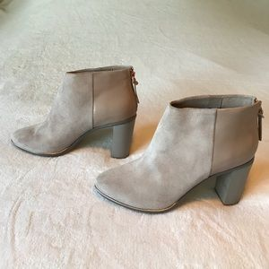 Ted Baker London Suede & Leather Booties